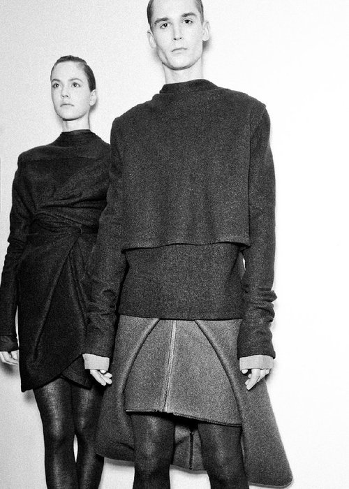 Backstage: Rad By Rad Hourani FW 11