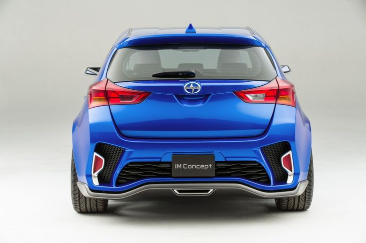 Scion's concept car, titled iM, presents a sleek new design to their product line in the subcompact market. http://carhist.com/