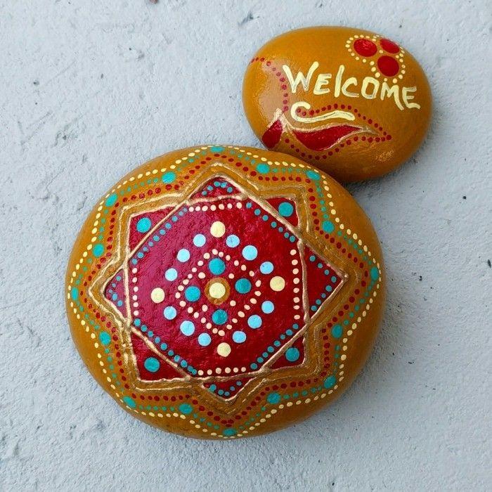 Steine Bemalen Und Mandala Bilder Entstehen Lassen 42 Mystische