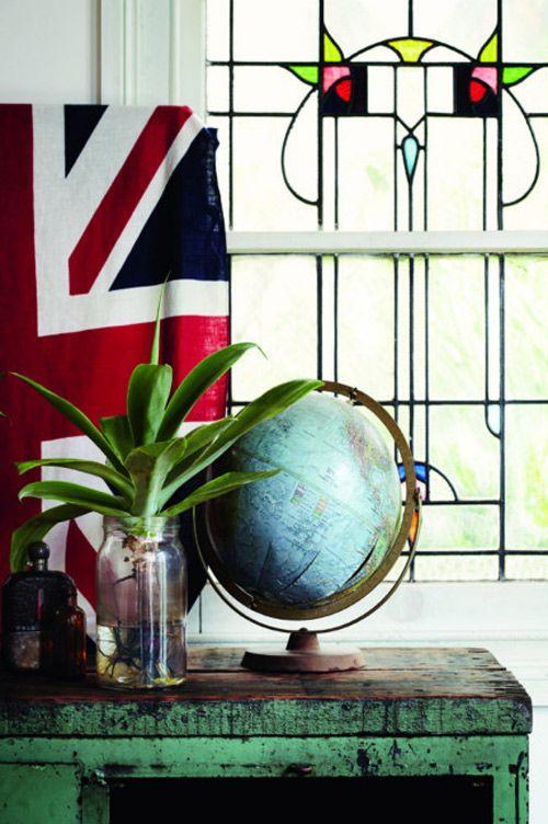 world globe - home decor desire to inspire - desiretoinspire.net