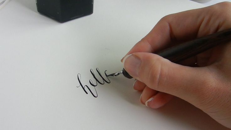 Ever wondered how to create modern calligraphy? This guide starts at square one, guiding you through what to buy, how to hold the pen, and what to write!