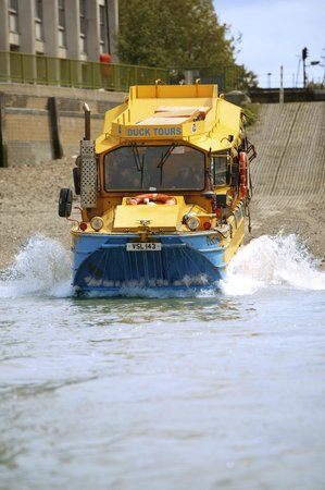 London Duck Tours - What a unique way to see the city. Get to learn about and see the most important sights of London, on a bus that then drives into the river. A cruise included in your sightseeing tour. I think it will be guaranteed to keep our boys thoroughly entertained.