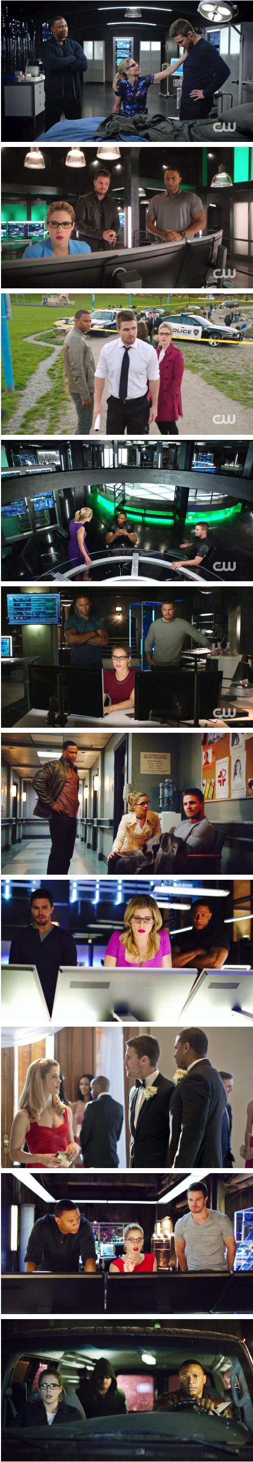 "Original #TeamArrow #OGs | ""… let's not forget our roots. Let's not, in the interest of trying new things, forget what people loved about this show in the first place."" — Stephen Amell"