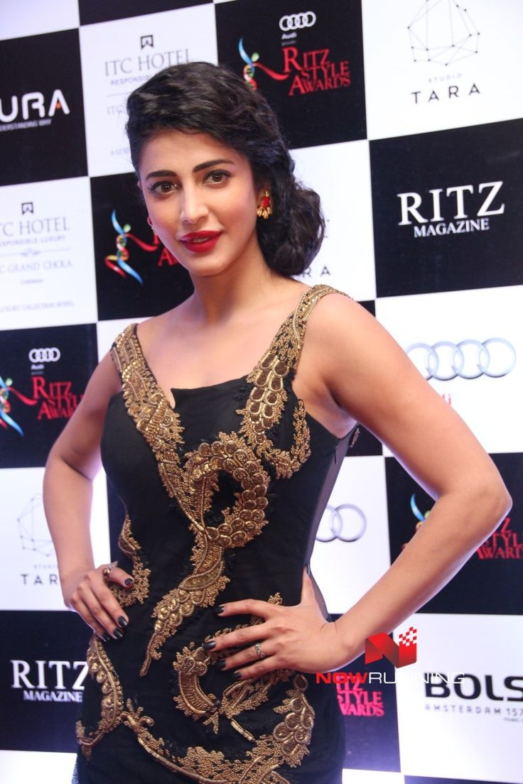 Shruti Haasan at Ritz Style Awards 2016