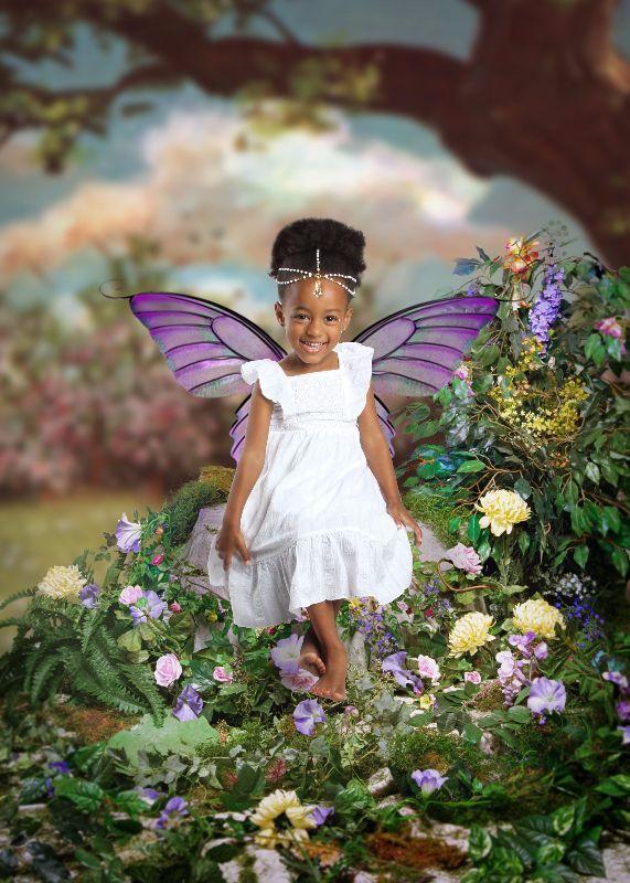 Toddler Photography Ideas #so cute #littlefairy