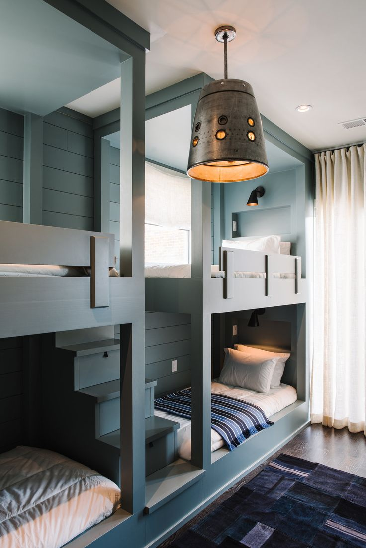 Best 25+ Built in bunks ideas on Pinterest | Built in bunkbeds ...