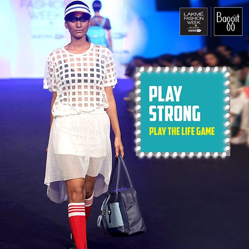 Being fit is a priority for all contemporary women, hence Baggit presents a spacious bag that can stylishly carry all your essentials. Add a fashion element to your strong look with this sleek & roomy multipurpose bag from Baggit Fall/Winter'15 Range featured @LakmeFashionWk 2015; available now at our Exclusive Baggit stores and www.baggit.com