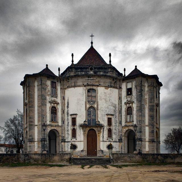 The Santuário do Senhor Jesus da Pedra, just outside Óbidos, in Portugal.