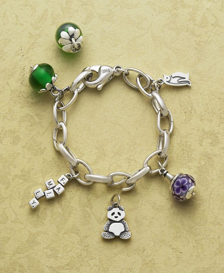 Changeable Charm Bracelet From James Avery Jewelry