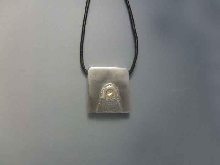 mayan kin seal moon muluc sterling silver 925 pendant charm zodiac necklace sello maya kin luna colgante zodiacal maya plata de ley by Algaba on Etsy