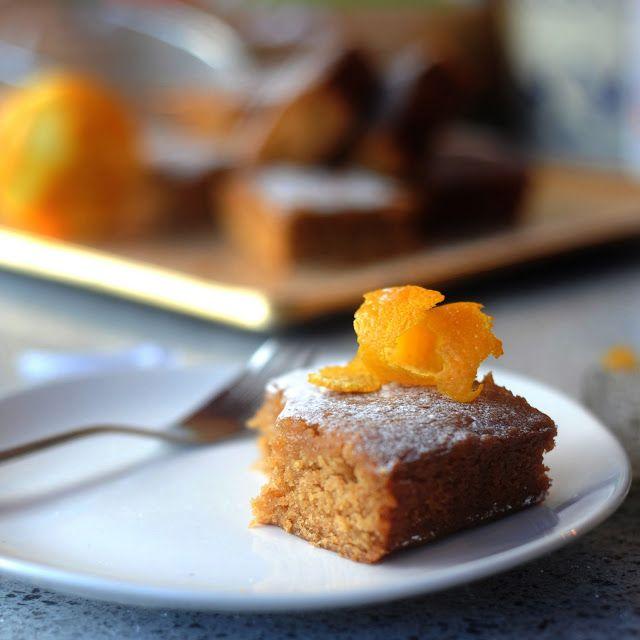 Orange Drizzle Chickpea Cake