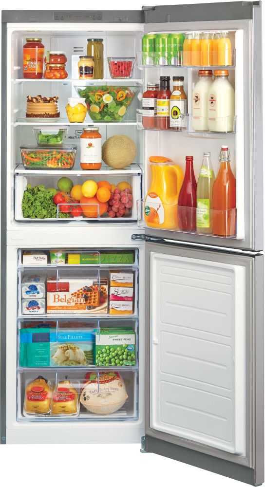 LG LBN10551PS 24 Inch Counter Depth Bottom-Freezer Refrigerator with 10.1 cu. ft. Capacity 2 Spillproof Glass Shelves 5 Door Bins 1 Crisper Drawer ...  sc 1 st  Pinterest & 16 best Fridge freezer images on Pinterest | Freezer Freezers and ...