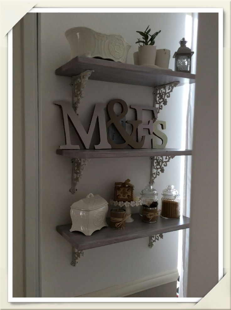 Open Shelves Paloma Old White Annie Sloan Chalk Paint