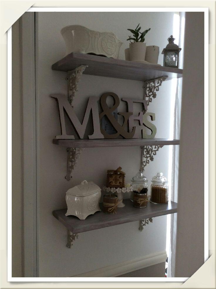 Open Shelves Paloma Old White Annie Sloan Chalk Paint