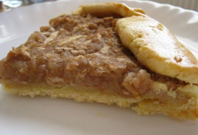 Rusztikus almás süti cukormentesen