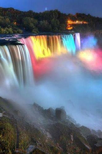 To see Niagra Falls, it's on our list!  Then the family would have been to  all the Great Lakes!