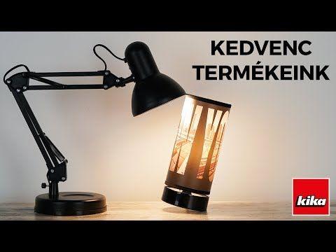 Kedvenc termékeink - Asztali lámpák | Kika Magyarország - YouTube