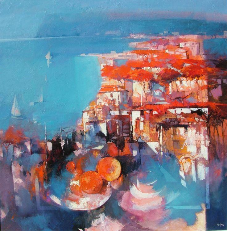 "Saatchi Art Artist: Alex Bertaina; Acrylic 2013 Painting ""Mare nostrum"""