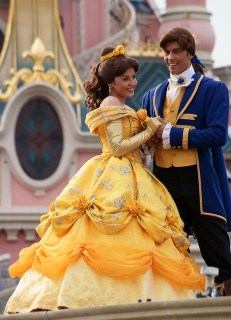 I NEED TO HAVE A PICTURE WITH BOTH OF THEM. And one with JUST Prince Adam! Sooo, who wants to take me to Disneyland Paris?!