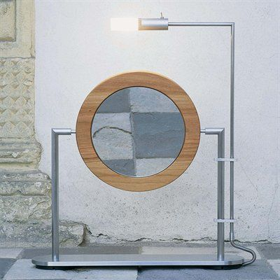 Contemporary Art Websites WS Bath Collections TS NW Makeup Magnifying Mirror with Light Brushed Stainless Steel