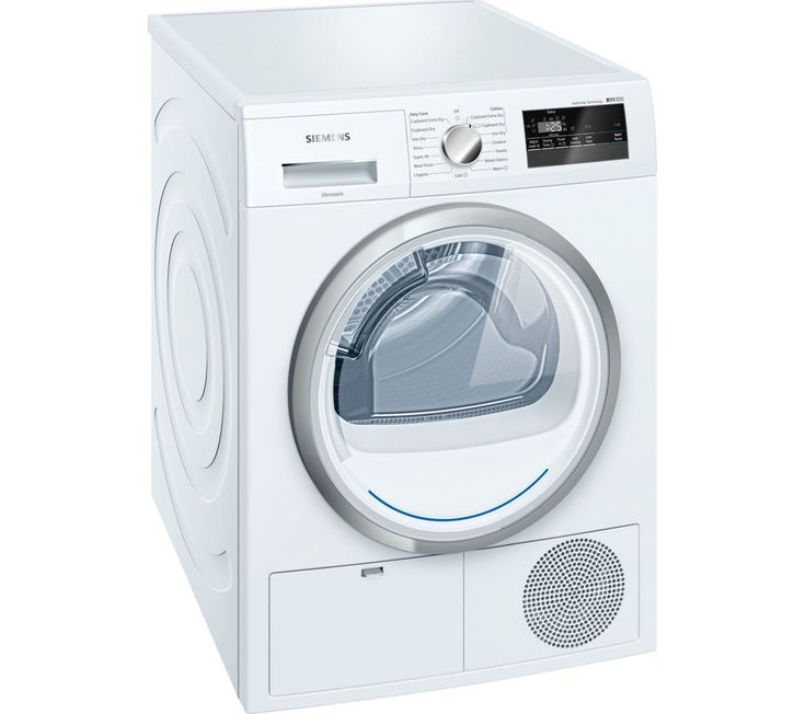SIEMENS WT45H200GB Heat Pump Tumble Dryer - White