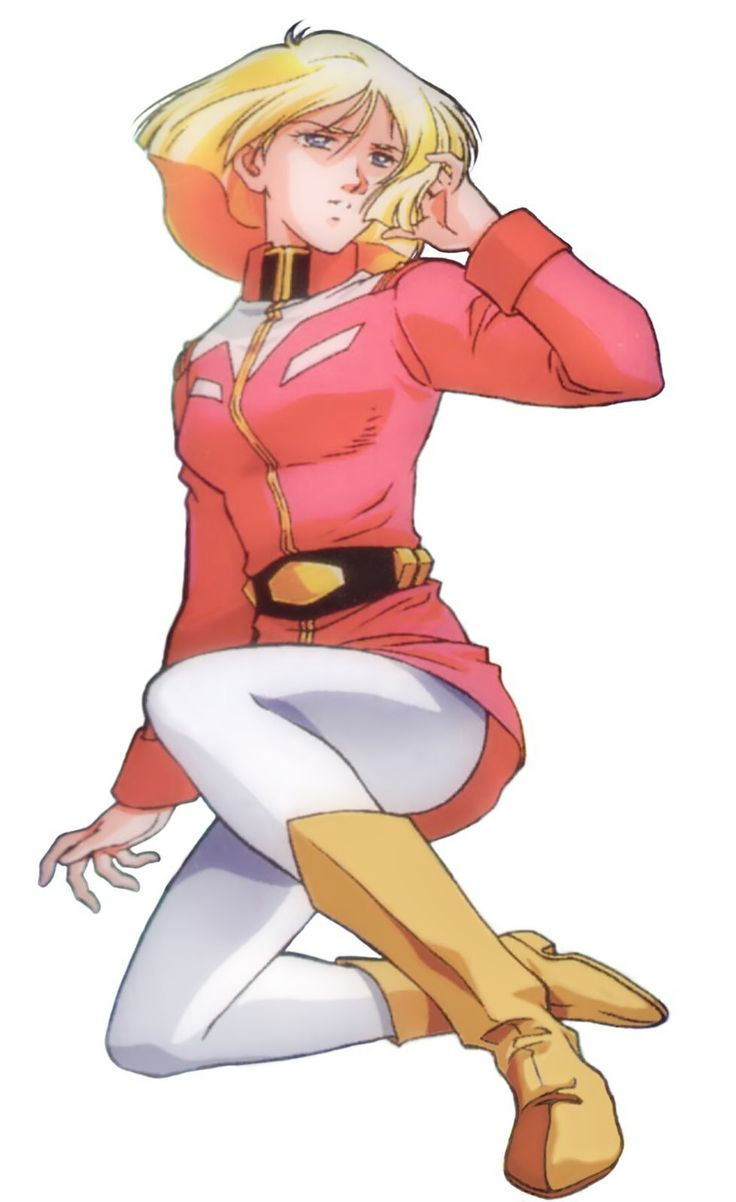 Sayla Mass (セイラ・マス Seira Masu) is a 17 year old Newtype from Side 3. Sayla is the younger sister of Char Aznable. She currently serves as a bridge crew member for the Earth Federation aboard White Base. Sayla has also been known to pilot the RX-78-2 Gundam on occasion.