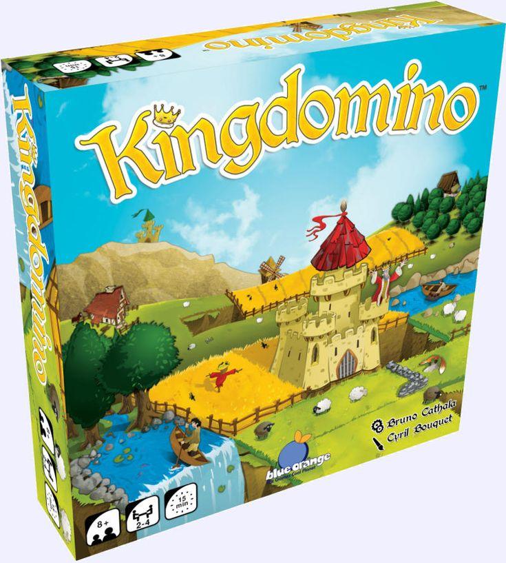 Kingdomino: jeu de société chez Jeux de NIM