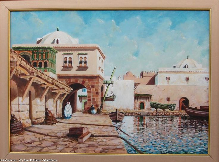 Oeuvre >> Mes Peintures Orientalistes >> Amirauté d'Alger