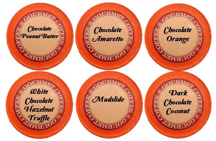 Chocolate Obsession Gourmet Coffee Variety Sampler Pack, 24 Count for Keurig Kcup Brewers