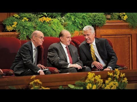 October 2015 General Conference - Saturday Sessions - YouTube