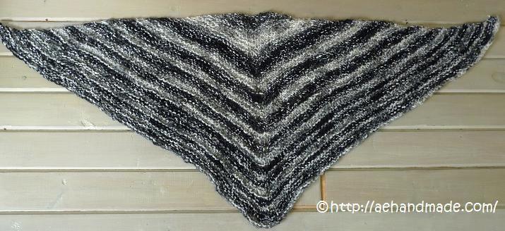 sticka en sjal