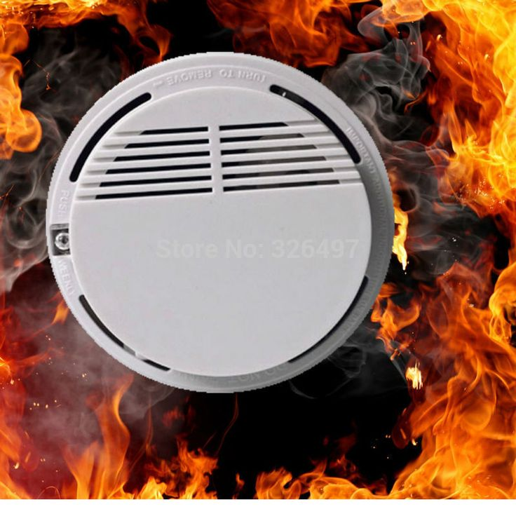 Wireless Alarm Security Smoke Fire Detector / Sensor For all GSM Alarm System For Home House Office