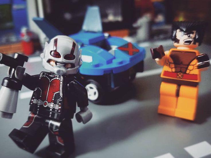 Ant-Man is at it again!   . . . #lego #legostarwars #legos #legophotography #legominifigures #legobatman #legobatmanmovie #legosuperheroes #legoland #legostagram #lego365 #legomania #legoart #legomovie #legofan #legomoc #legopic #legominifigure #legocity #legostore #funko #pop #funkopop #toycrewbuddies #toyunion #toyphotography #toy #wolverine #antman #legojira