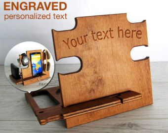Anniversary Gifts for Men Personalized,engraved text,your name,Husband Gifts Men, Gifts For Him, Mens Gift, Fathers Day Gift,Docking Station