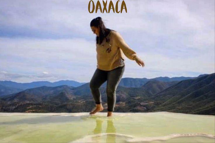 Hierve el agua, Oaxaca.  México