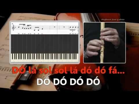 Hello Adele karaoke para flauta Educação Musical José Galvão - YouTube