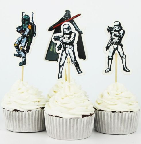 1-5-10-15-20-Star-Wars-Vader-Storm-Trooper-Bobba-Cupcake-Topper-Sticks-Flags