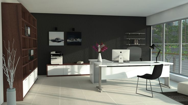 Kancelársky nábytok vytvorený na mieru. Reprezentatívny dizajn pre vrcholových manažérov