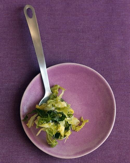 Buttered Savoy Cabbage - Martha Stewart Recipes