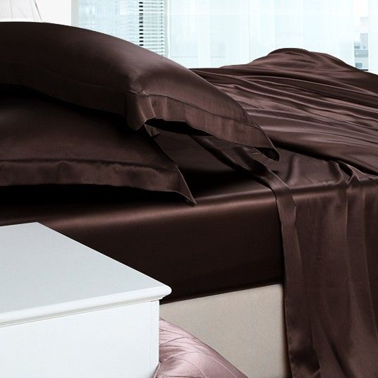 silk sheet sets #silksheetsbedding