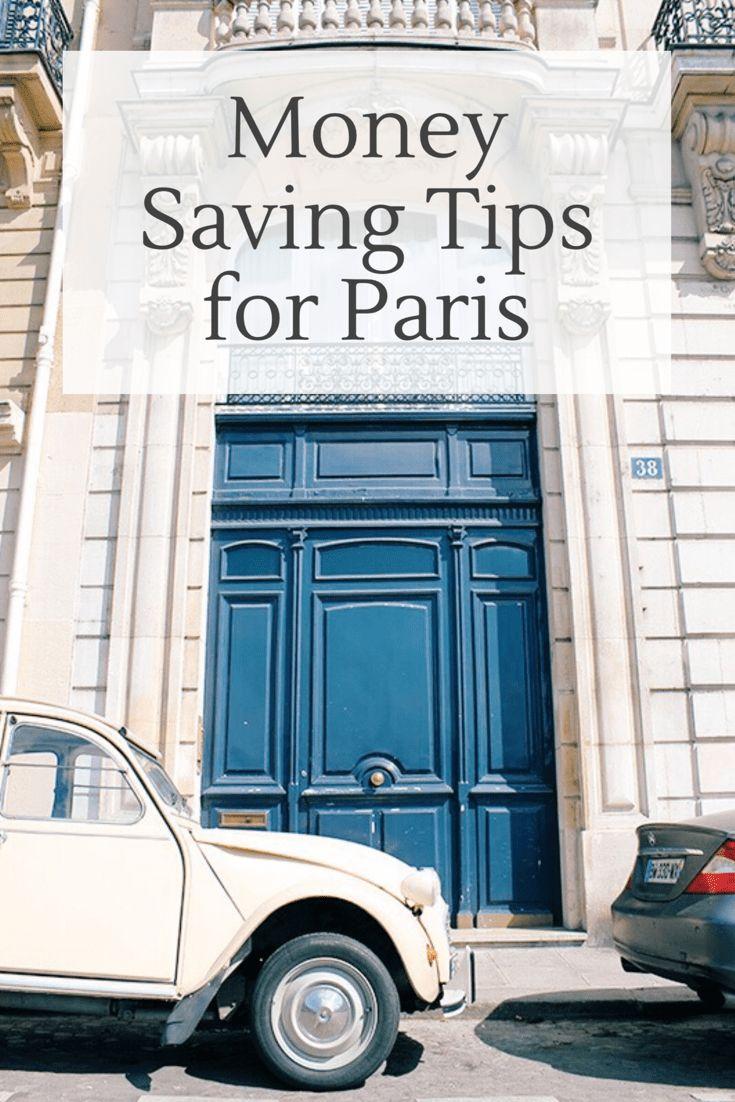 Money saving tips for Paris