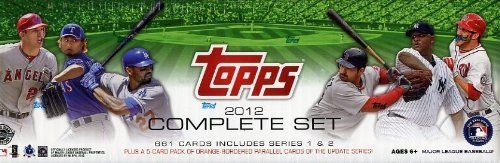 2012 Topps Baseball 666 Card Factory Sealed Hobby HOLIDAY Factory Set with BRYCE HARPER VARIATION ROOKIE Card ! Includes FIVE(5) EXCLUSIVE Limited Edition Numbered ORANGE-BORDERED Parallel Cards!! Set Includes all your Favorite Baseball Stars including Mantle,Jeter,Pujols,Chipper,Posey,Strasburg,Ichiro and Many More !! An Amazing Addition to Any Collection and a Great Gift! by.... $54.99. Wowzzer!! We are Proud to offer this 2012 Topps Baseball Factory Sealed HOBBY HTA...