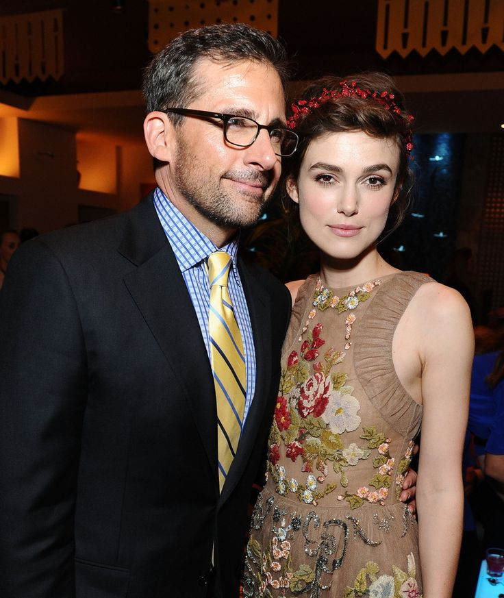 "Keira Knightley Photos Photos - Actor Steve Carell and actress Keira Knightley attend the premiere after party of ""Seeking a Friend for the End of the World"" at the 2012 Los Angeles Film Festival on June 18, 2012 in Los Angeles, California. - 2012 Los Angeles Film Festival Premiere Of  ""Seeking A Friend For The End Of The World"" - After Party"