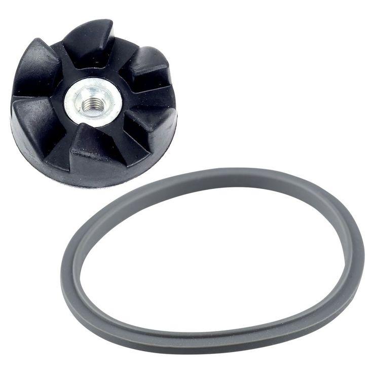 Felji Rubber Blade Gear + Gasket Combo for NutriBullet 600W 900W NB-101 Blenders