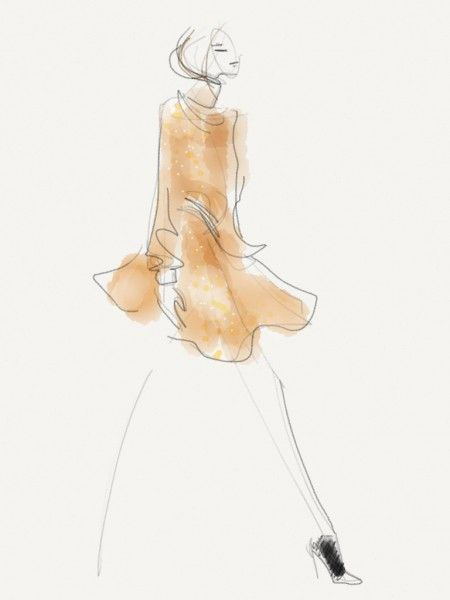 Line Knitwear Fall 2013; Illustration by Danielle Meder