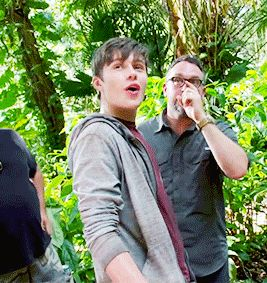In between takes of Jurassic World in 2020 | Nick robinson ...