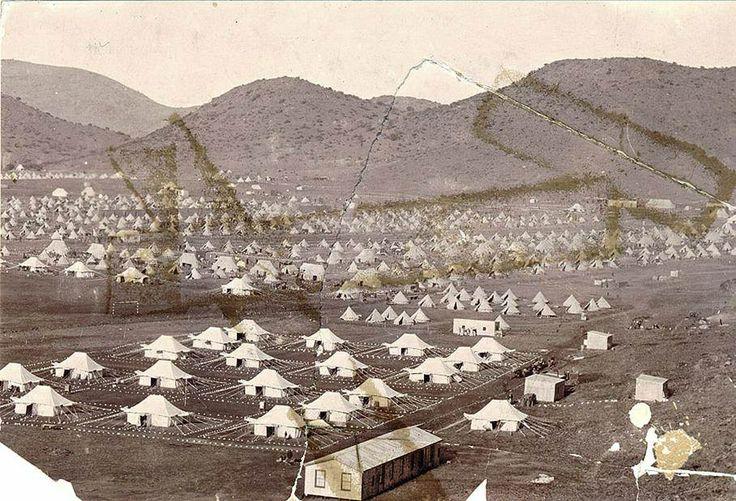 Bloemfontein konsentrasiekamp 1900-1902