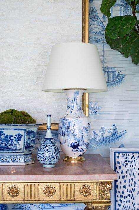chinoiserie chic blue and - photo #22