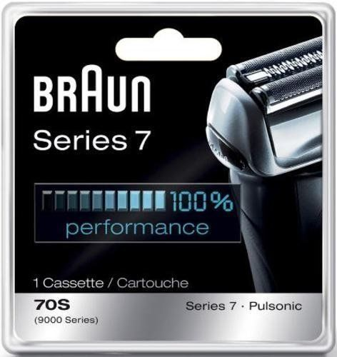Shaver Parts and Accessories: Braun Series 7 Shaver Head Replacement Pulsonic 70S Electric Razor Foil Cutter BUY IT NOW ONLY: $74.99