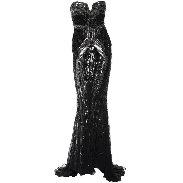 Roberto Cavalli Woman Embellished Silk-chiffon Kaftan Black Size 40 Roberto Cavalli Clearance Reliable Amazon Cheap Price zbaT7vH1A